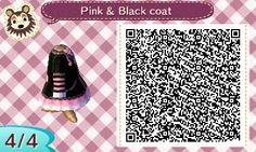 Pink/Black coat