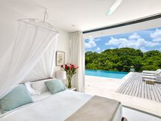 Atelier House - Barbados A sleek, contemporary...A sleek, contemporary retreat on the west coast of Barbados, Atelier House features magnificent views and bright, spacious interiors that flow seamlessly onto ample, sun-kissed terraces. by Luxury Accommodations