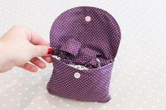 Un sac pliable pour les courses {DIY} | Les Lubies de Louise