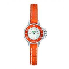Lacoste Female Bilboa Watch  2000556 Orange Analog Sale price. $90.95