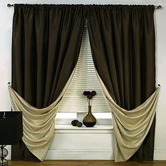 Imagen: cortinas con paneles