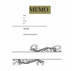 221 best memo template images on pinterest calendar notebook and
