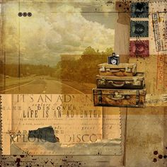 Life is an Adventure.#DesignerDigitals #Collage