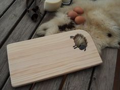 tabla cortar - ovejita