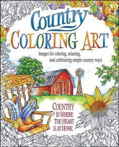 Country Coloring Art