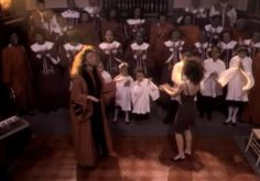"""Pin for Later: 11 Things That Look Hilariously Similar to Madonna's Grammys Performance The Gospel Choir in Madonna's """"Like a Prayer"""" Music Video"""