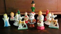 Gurley Christmas candles from the 1950's