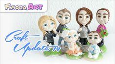 Fimora Art / Fimo Figuren / Polymerclay Creations / Craft Update / Charm Update Hallo Ihr Lieben ^^ ... in diesem Video zeige ich Euch meine neuesten Figuren...
