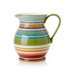 I love pitchers. I have tons of them in my kitchen.