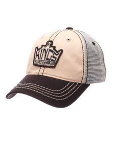 Zephyr Los Angeles Kings Roader Mesh Cap - Gray Adjustable