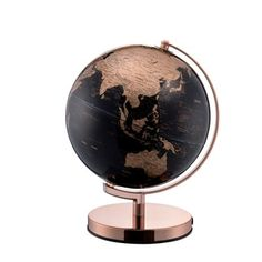 ORE International In. Tall Black and Gold Globe with Rose Gold Metal Frame at Lowe's. Dynamically detailed, you won't find a better moderately sized globe than this. A wide round shiny rose gold chrome base supports the piece, finished in Gold Office Decor, Gold Bedroom Decor, Bedroom Black, Teen Bedroom, Bedroom Sets, Rose Gold Rooms, Rose Gold Decor, Design Hotel, Home Design