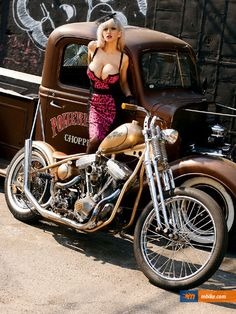 Motorcycle Girl, and rat rod p.u.