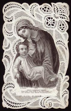 Jesus Caressing Mary / Bouasse Lebel