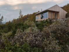 Pine cabin offers refuge for architect and his family in Norway - Curbed