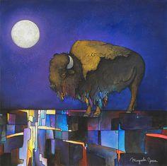 """Under the Moon"", Micqaela Jones, Shoshone~Paiute"