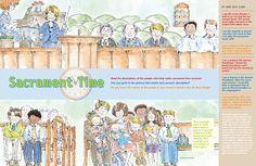 Good visual to teach kids about the sacrament