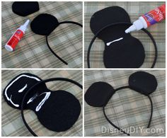 Mickey Mouse Ears Template Headband - Cliparts.co