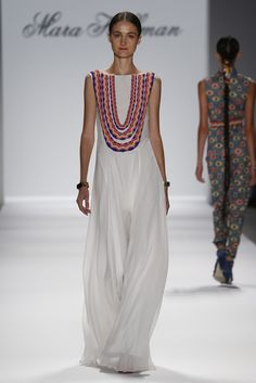 Mara Hoffman Spring 2014 Ready-to-Wear Fashion Show Runway Fashion, Boho Fashion, High Fashion, Fashion Show, Fashion Spring, Dress Fashion, The Dress, Dress Skirt, Haute Couture Style