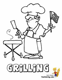 30 Best Free 4th July Coloring Pages images in 2016