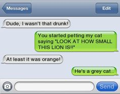 15 Funniest Drunk Texts Ever Sent - Autocorrect Fails and Funny Text Messages - SmartphOWNED I Wasnt That Drunk Texts, Funny Drunk Texts, Funny Texts Crush, Funny Text Fails, Drunk Humor, Funny Relatable Memes, Funny Quotes, Drunk Fails, Hilarious Texts