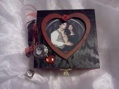 Delena Keepsake box with matching necklace & scrabble tile ring...I made this ;-)