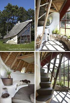 Artisan Cob House in Stenlille, Denmark.