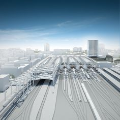 Bologna Masterplan and Train Station