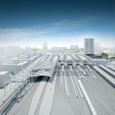 Bologna Masterplan and Train Station
