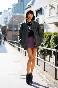 cool Japanese fashion and Tokyo street style - Tokyofaces.com by http://www.globalfashionista.us/japanese-street-fashion/japanese-fashion-and-tokyo-street-style-tokyofaces-com/