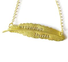 Harry Potter Necklace Harry Potter Quote