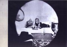 """""""Giosetta Fioroni 'La spia ottica'"""", Giuseppe Schiavinotto, 1968"""