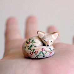 Go to sleep, little one. @handymaiden crafted this sweet friend. #etsy #cute
