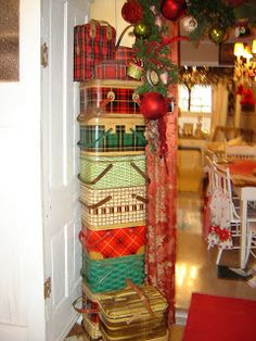 tin baskets collection......stacked Gresham Barn