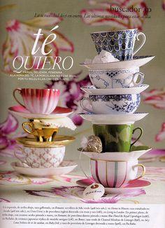 1000 images about i love teacups - Decoracion de tazas ...
