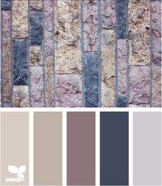 This would make a lovely color theme for a house // walled tones