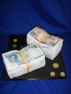How do I...Money cake with edible dollar bills?
