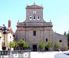 Palencia - iglesia del Convento de San Pablo.