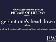 """Phrase of the Words. Today's """"Phrase of the Day"""" is with one's back to the wall and it is a phrase English Grammar Worksheets, English Idioms, Grammar Lessons, English Vinglish, English Words, Learn English, Slang Phrases, Idioms And Phrases, Phrase Meaning"""