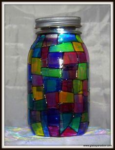 StainGlass Traditional Solar Light - Glass Paradox