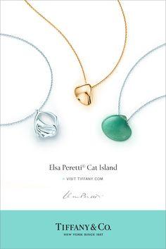 Elsa Perretti Cat Island Visit Tiffany.com   - ELLE.com