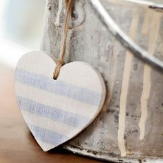 Wooden heart, easy to make.