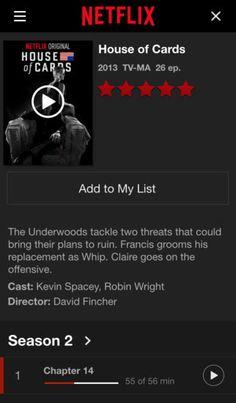 Netflix sur iPhone