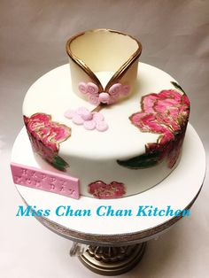 Chinese dress for Mother's Day cake for your mom