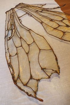 woodland fairy wings - like the bead details