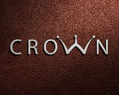 """Crown Logo design - The crown shape forms the letter """"W""""<br />This simple and clean logo can be used for any business firms and companies Price $399.00"""