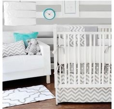 Baby Decor - White and Gray