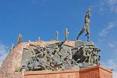 Monumento a los Heroes de la Independencia,Huahuaca,Provincia de Jujuy,Republica Argentina