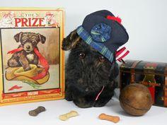 Clyde- 1930-50 Scottie dog www.onceuponatimebears.co.uk