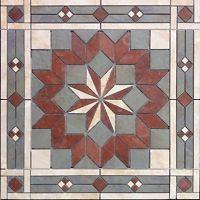 "32"" Tile Medallion - Daltile's Continental Slate tile series"