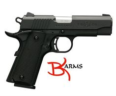 "FREE SHIPPING to CONUS! Browning 051905492 1911-380 Black Label Compact SA 380ACP 3.6"" 8+1 Black Composite Grip Black.   Browning's 1911 Black Label Compact pistol is constructed of 7075 aluminum with a stainless steel slide finished in matte black. This pistol has fixed combat sights, an extended ambidextrous manual thumb and grip safety, and a commander hammer. An ABS carry case is included.   SPECIFICATIONS: Mfg Item Num: 051905492. Category: PISTOLS. Type :Pistol. Action :Single...."